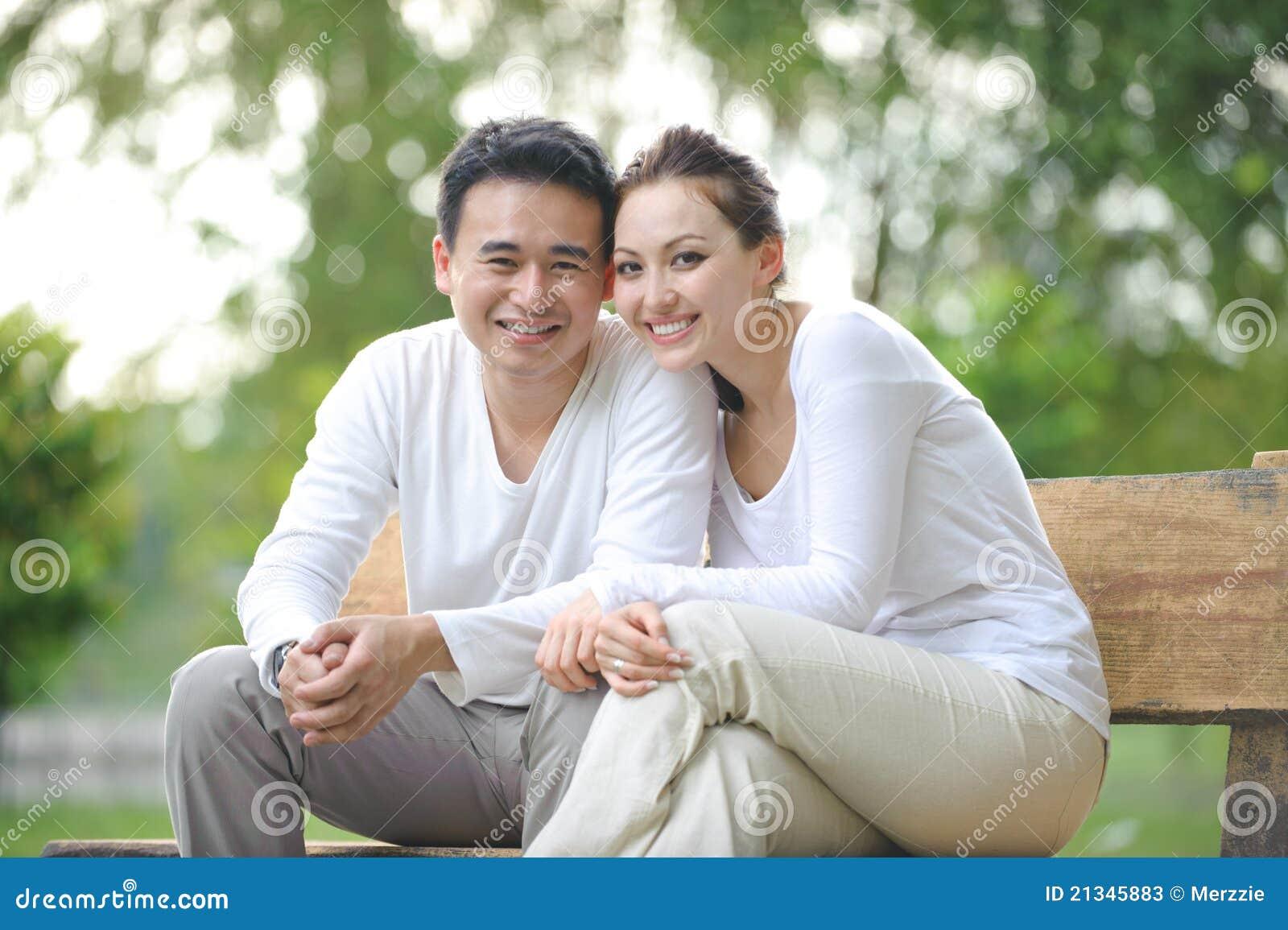 outdoor Woman couple asian