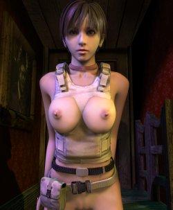 evil trront Resident 3d hentai