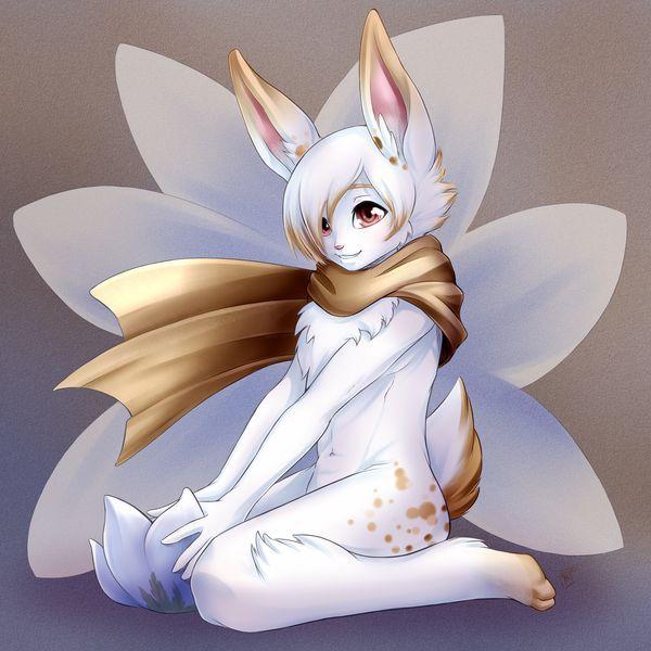 anime boy Cute bunny