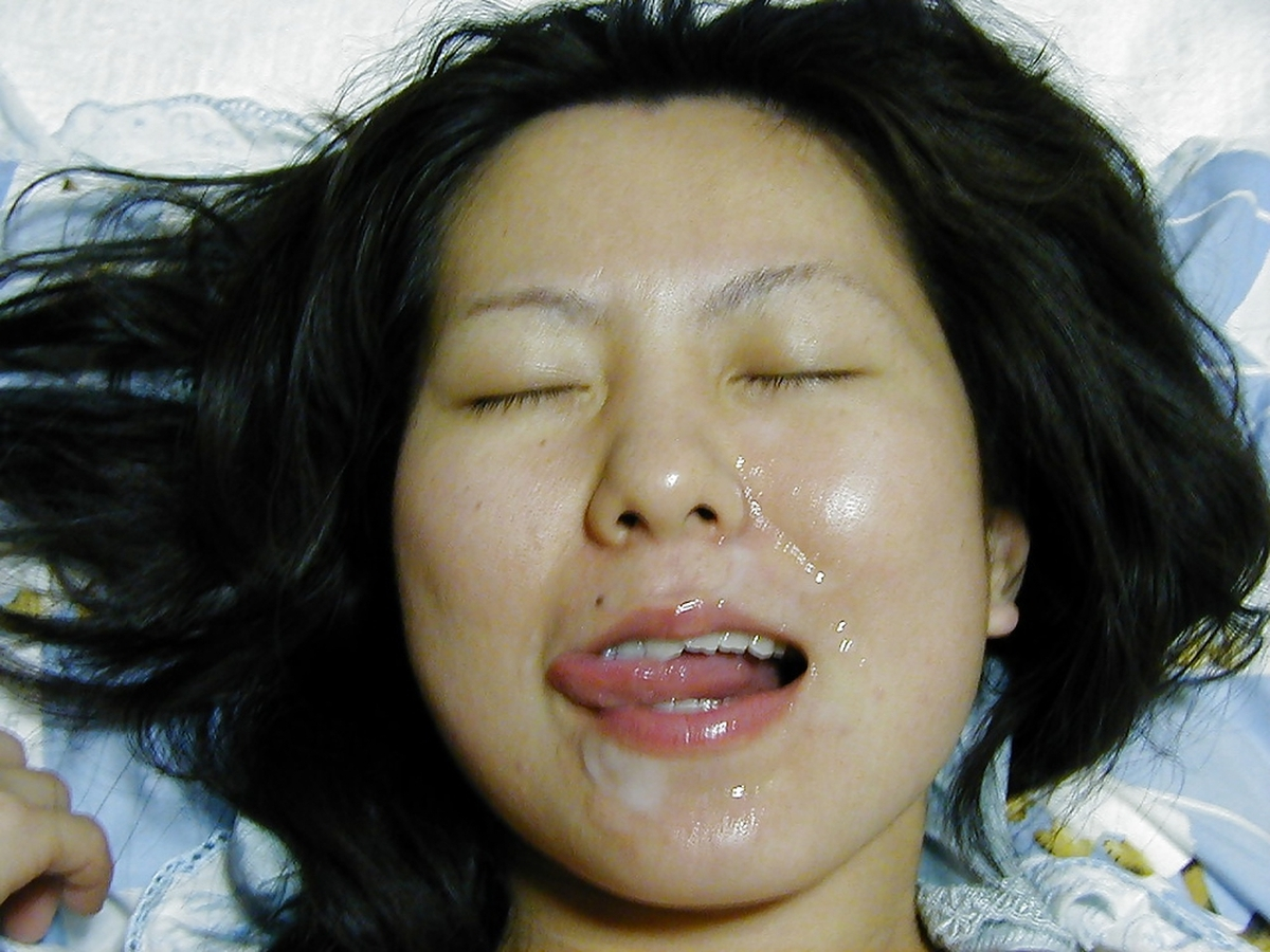 mouth asian POV housewife cum