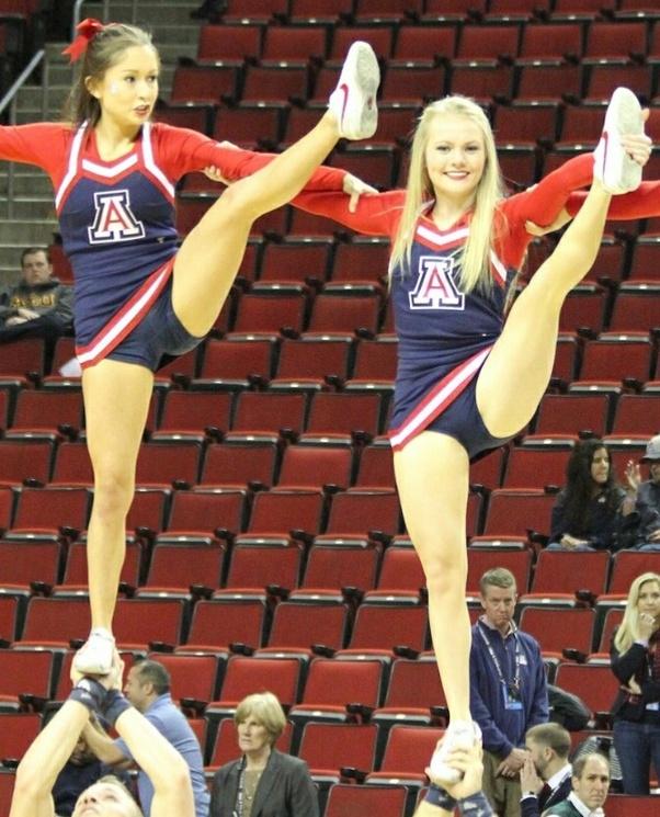 panties uniform Cheerleaders asian