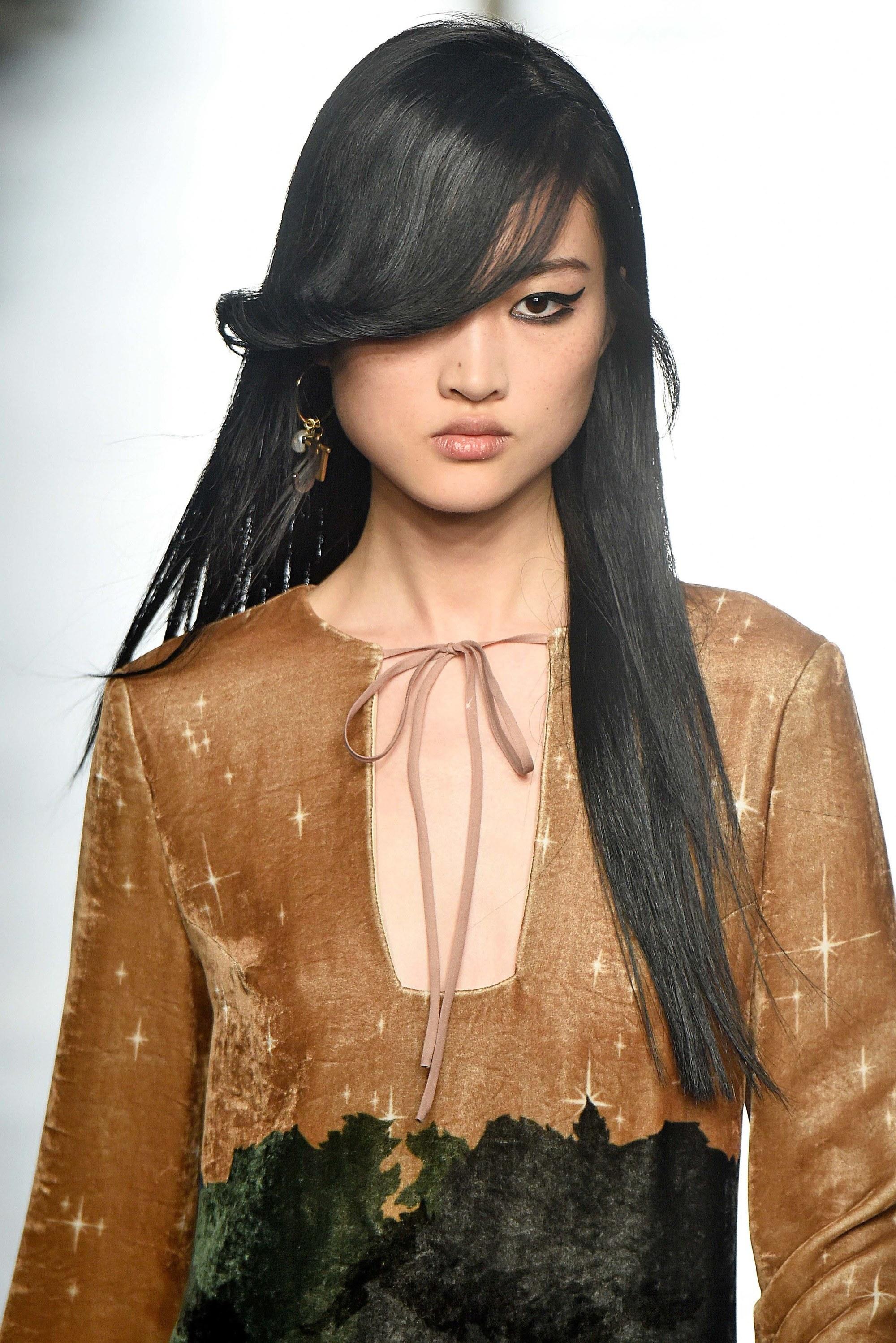 long asian cute Sexy hair