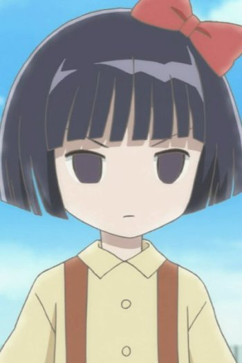 girl black Anime in