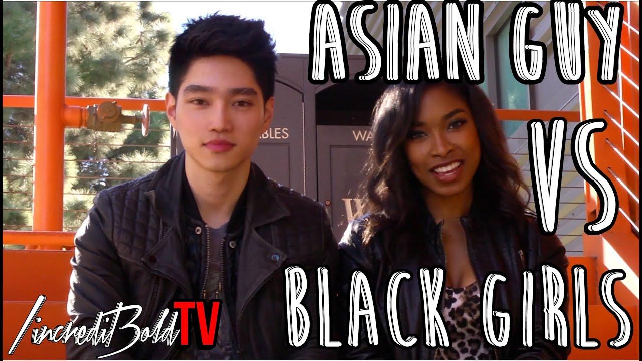 black Asian girls guys into