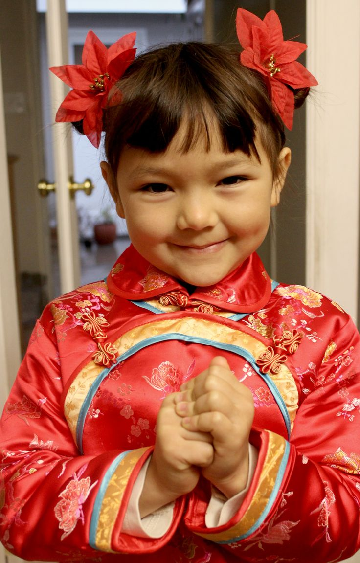 Chinese girl hair style