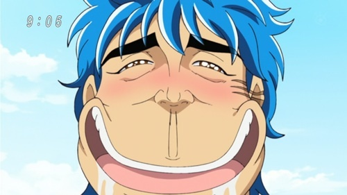 anime face Drooling