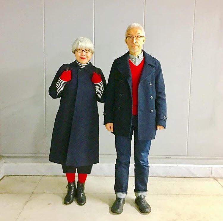 Asian uniform couple otngagged