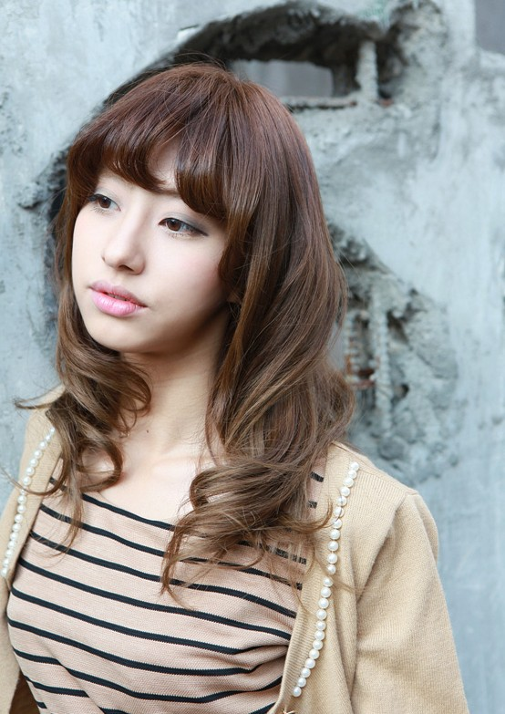 long hair asian women with Beutiful