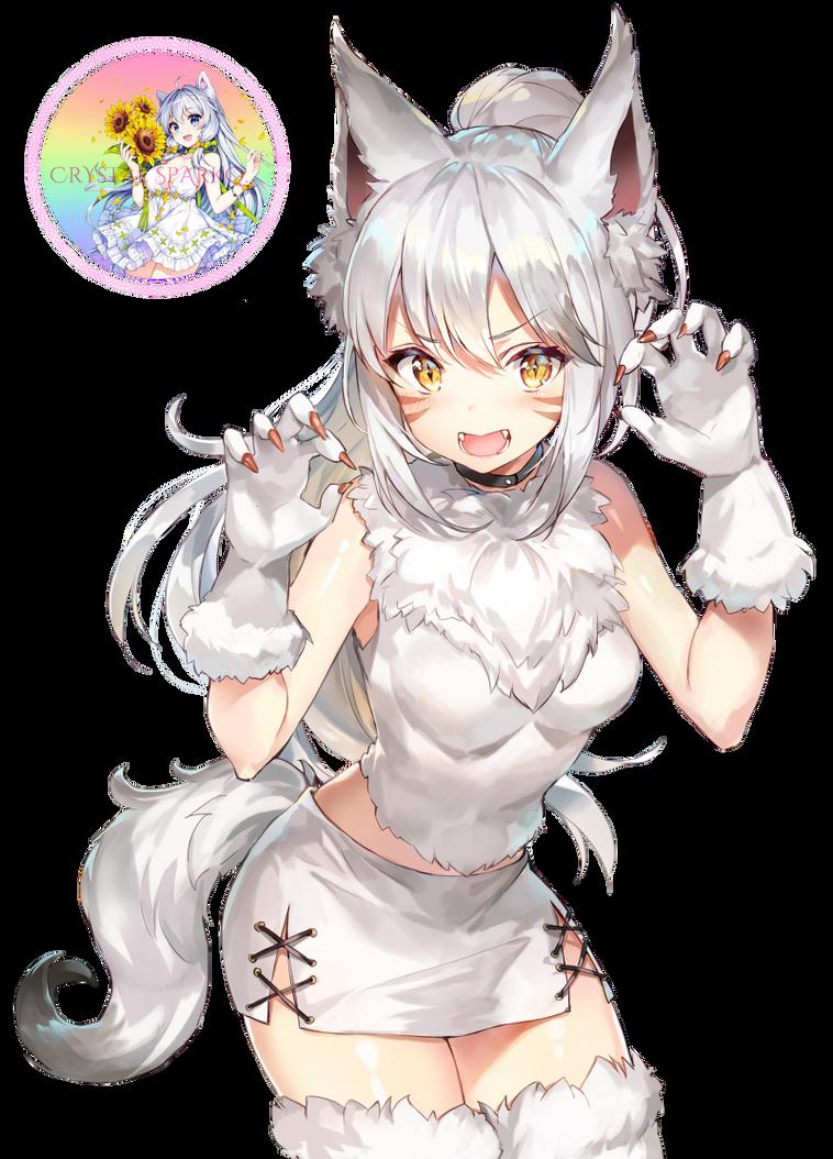 Cat tail hentai