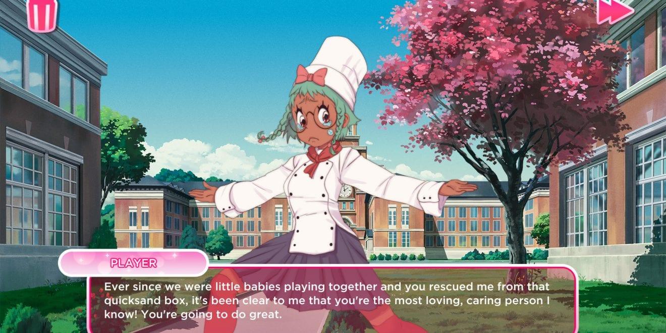 Anime dating simulator games