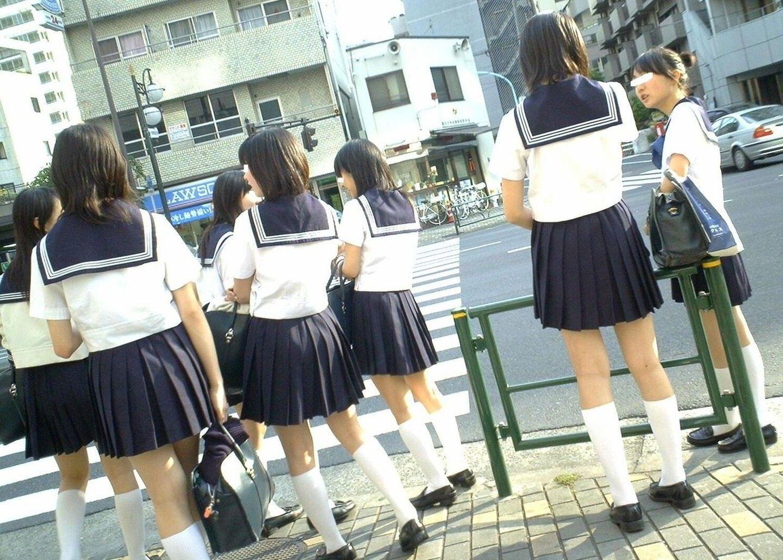 asian Chubby outdoor uniform