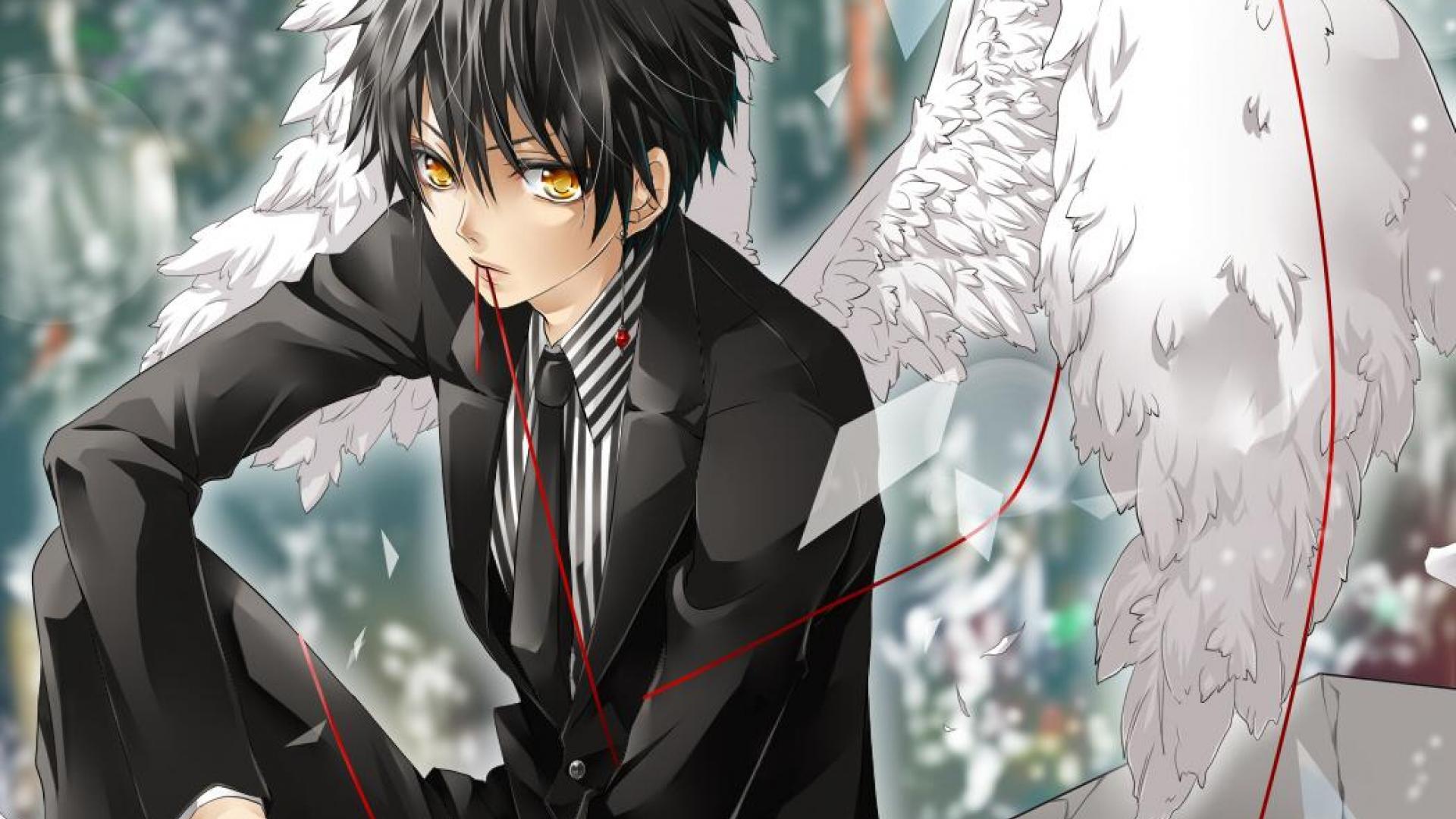 anime guy wallpaper Cute