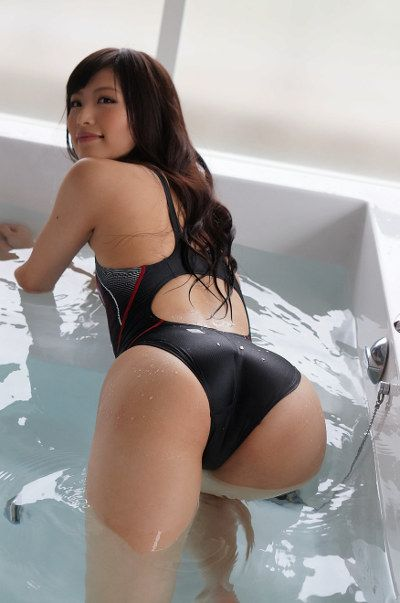 wet Asian POV bikini