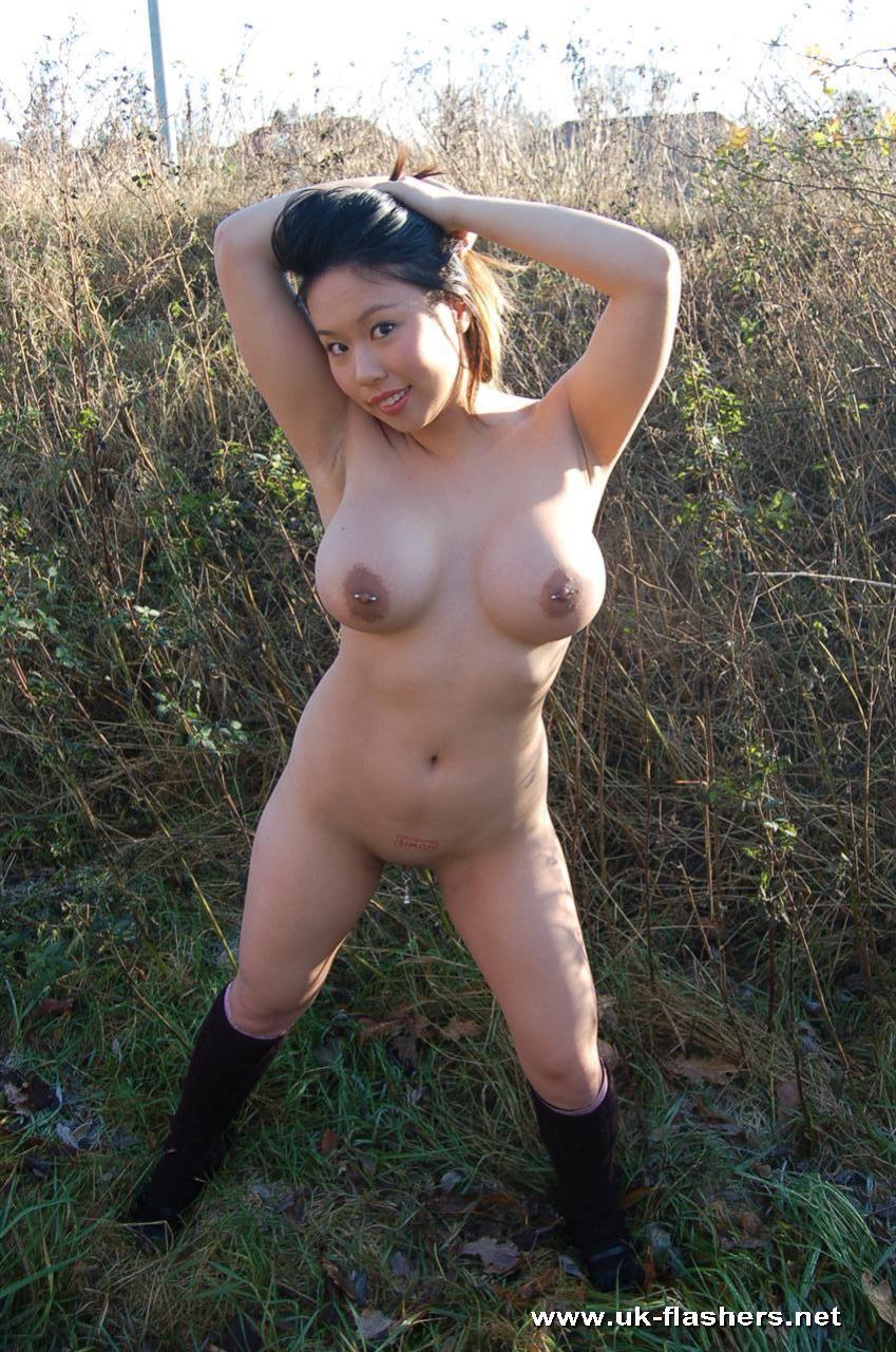 outdoor Black upskirt asian