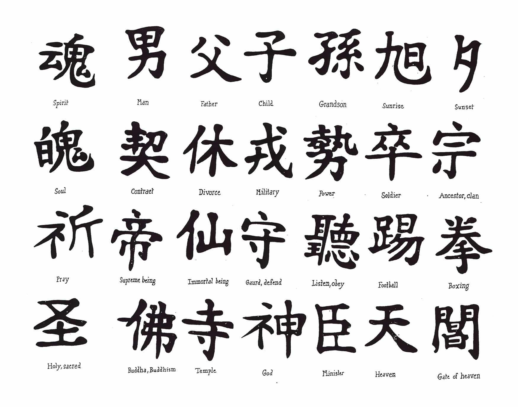 symbol chinese Fuck off
