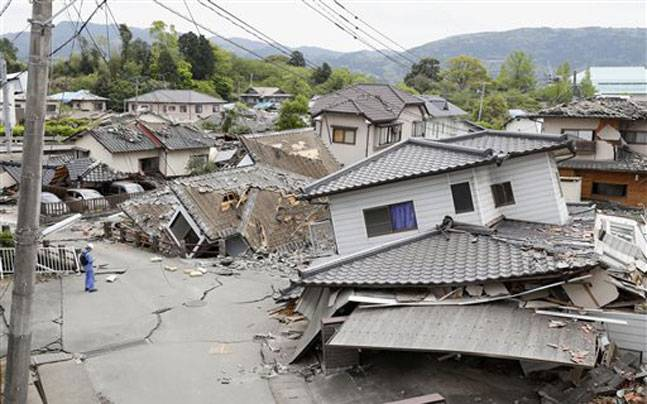 What to do in earthquake japan