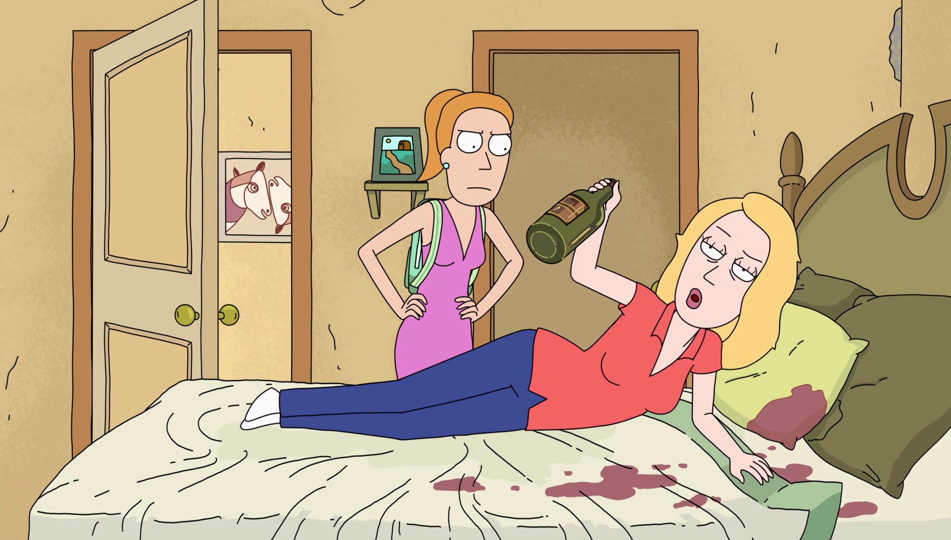 cartoons hentai Drunk