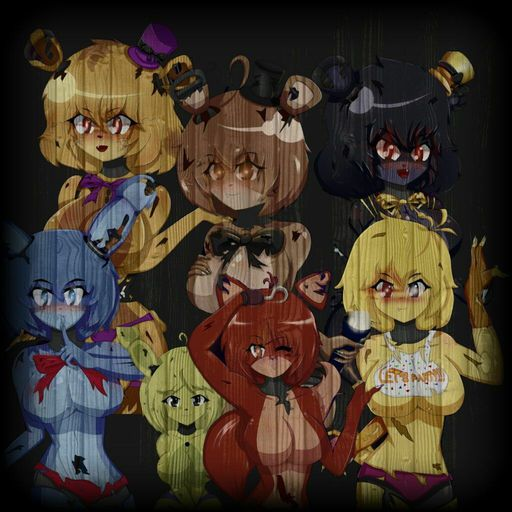 nights in characters Five anime