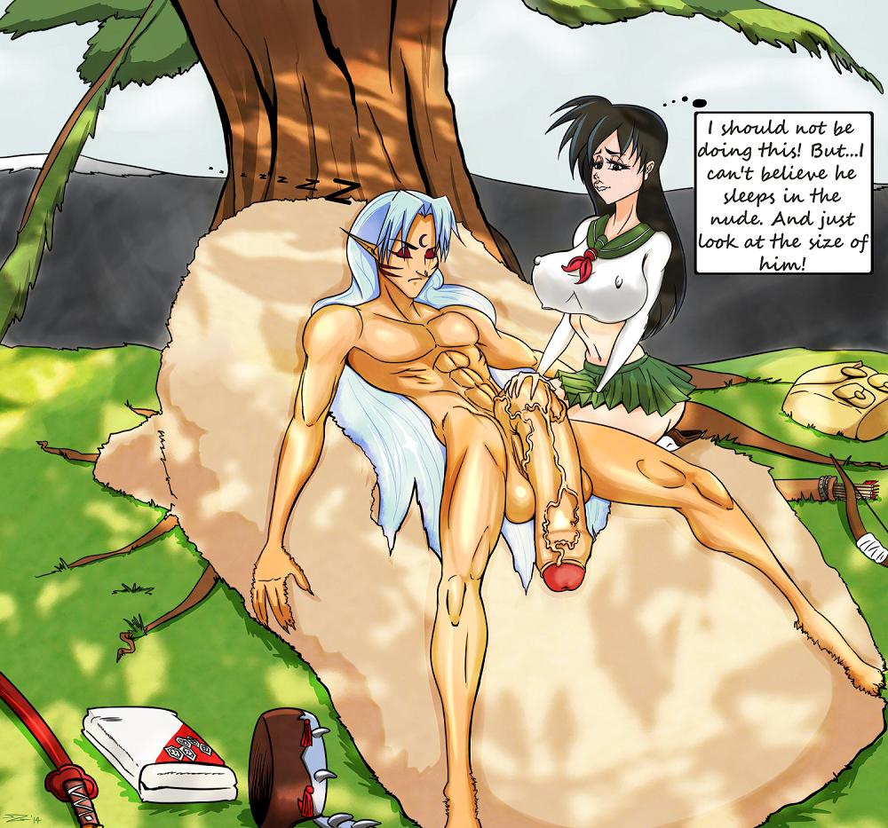 hentai Sesshomaru and kagome