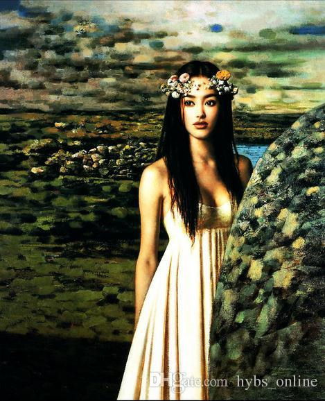 china Nude oil erotic paintings chinese