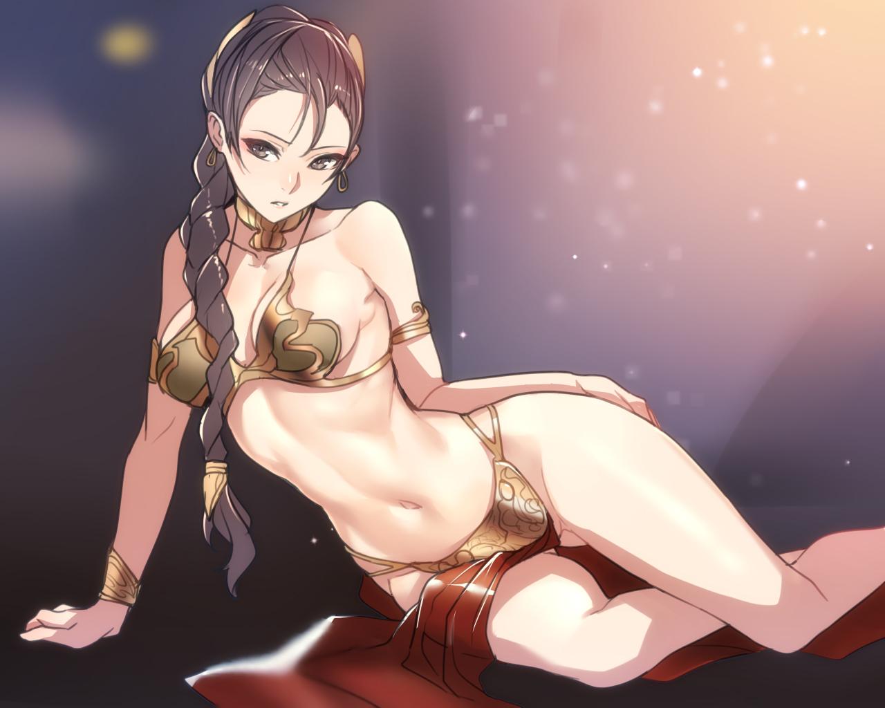 Naked pictures Anime bikini girl