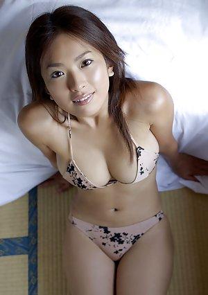 Blonde panties asian young