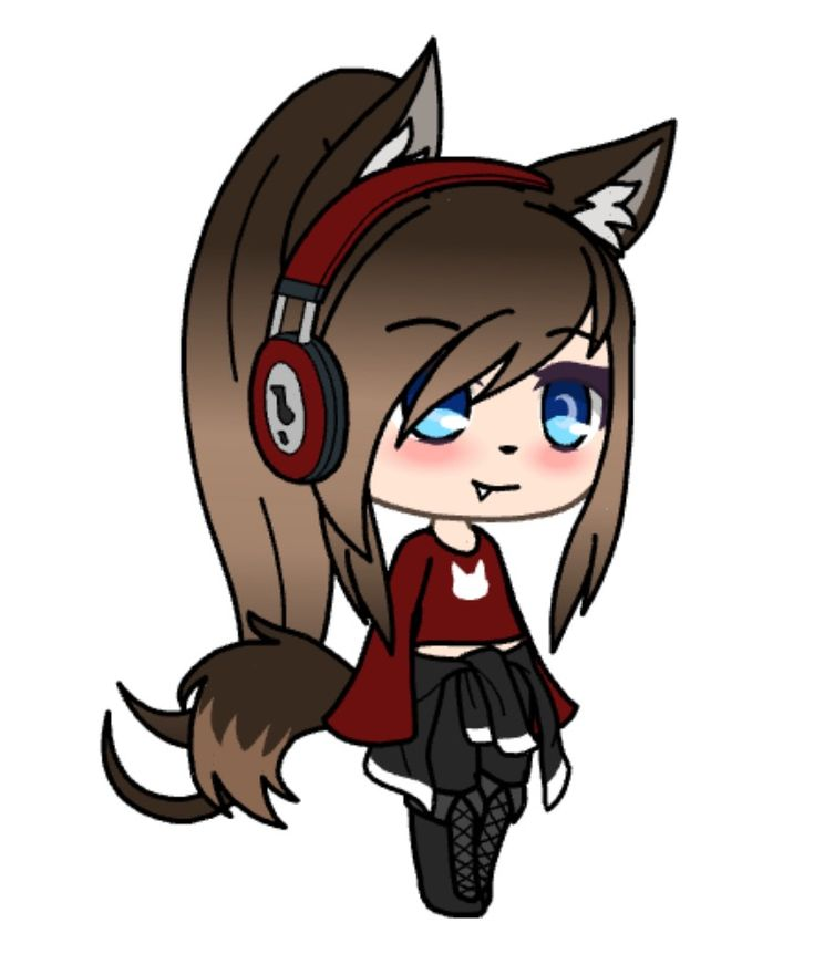 to an wolf anime girl How draw