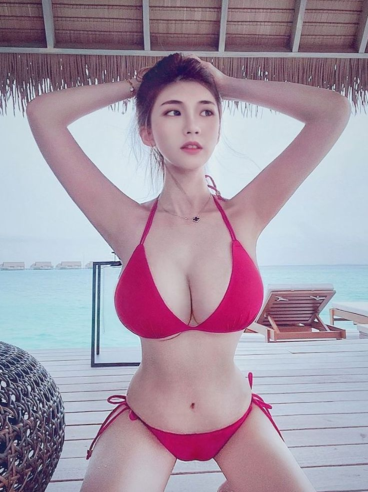 asian busty outdoor Young