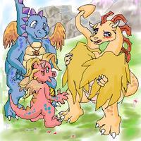 tales pink Hentai dragon