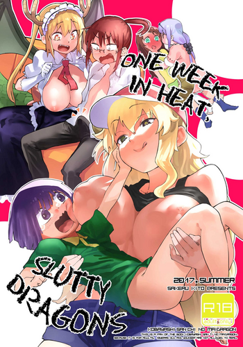 Dragon maid hentai comic