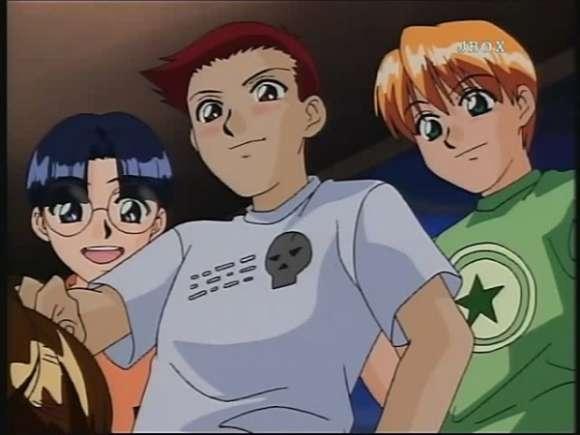 Blood shadow anime