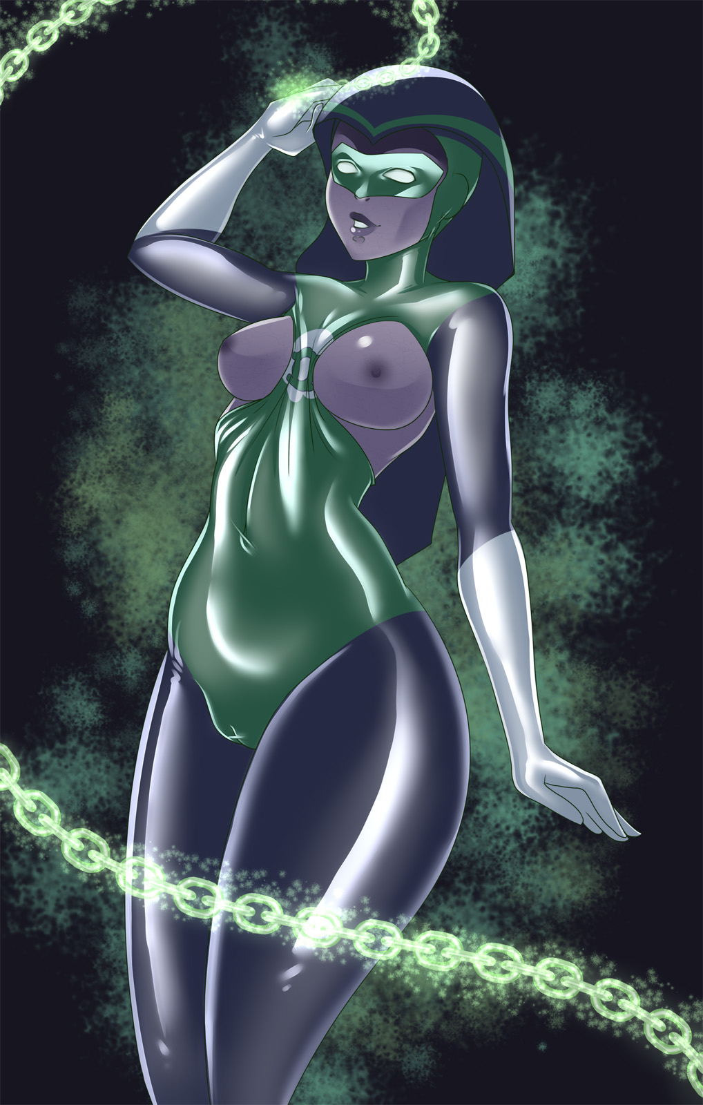 lantern hentai Green