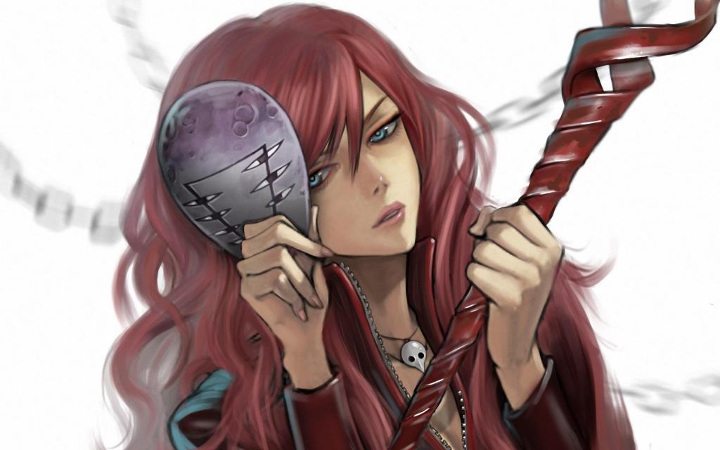 anime redhead Free