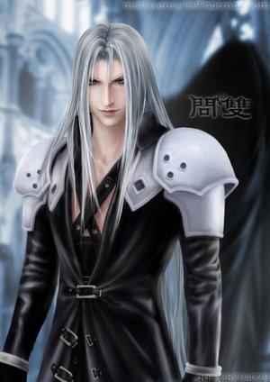 Anime guys with silver hair