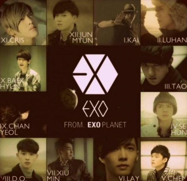 korean in one we Exo are
