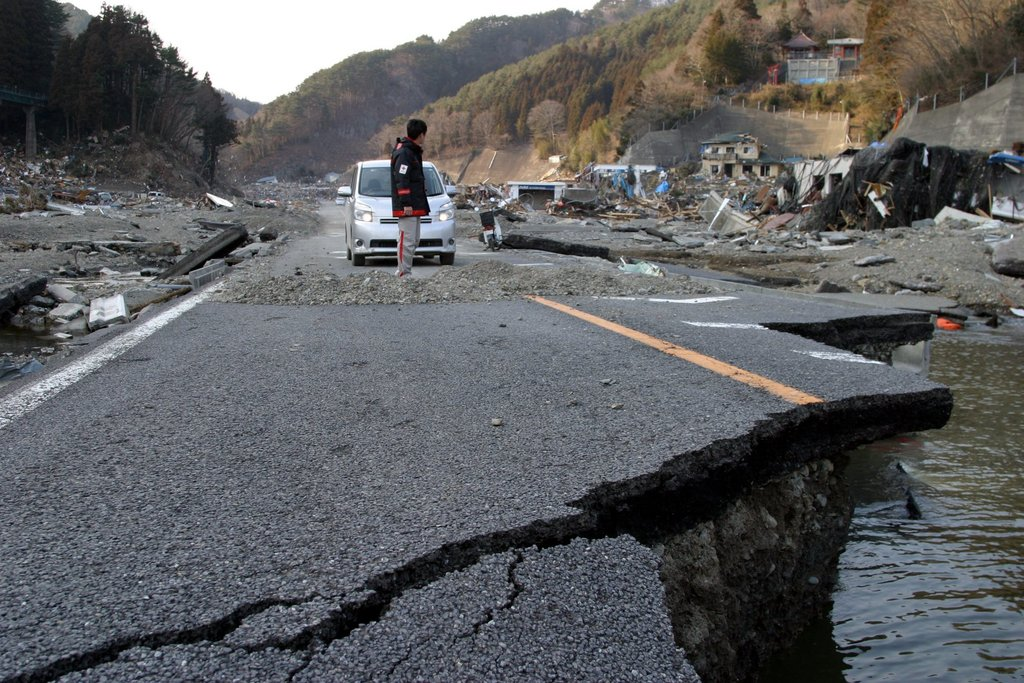 in earthquake What japan do to
