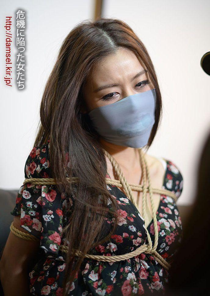 redhead Otngagged asian woman
