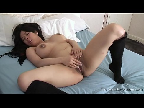 curvy screaming Asian makeout