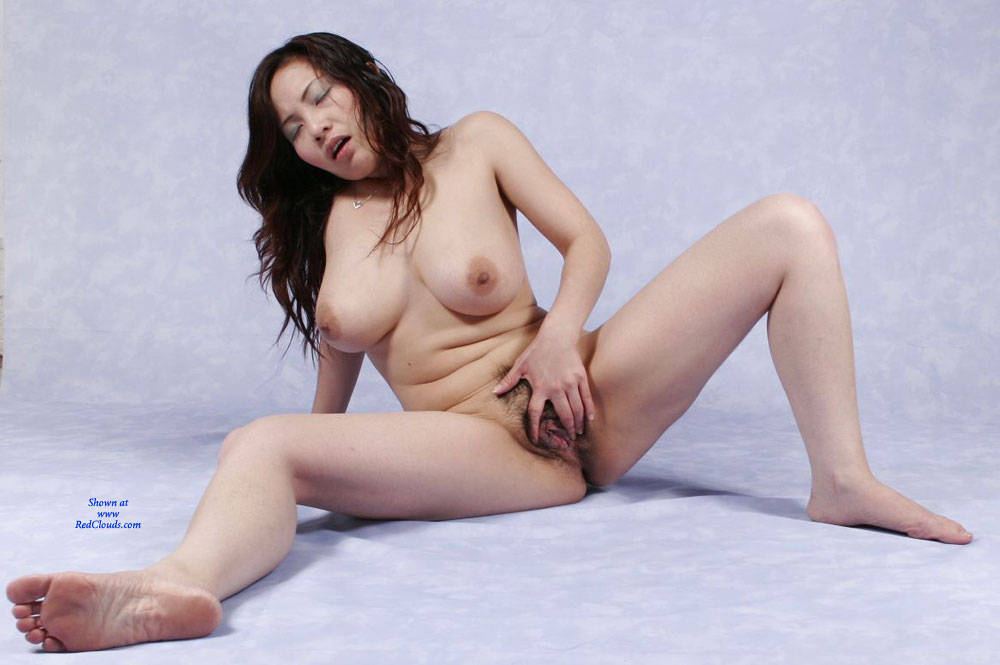 big Chinese tits wife