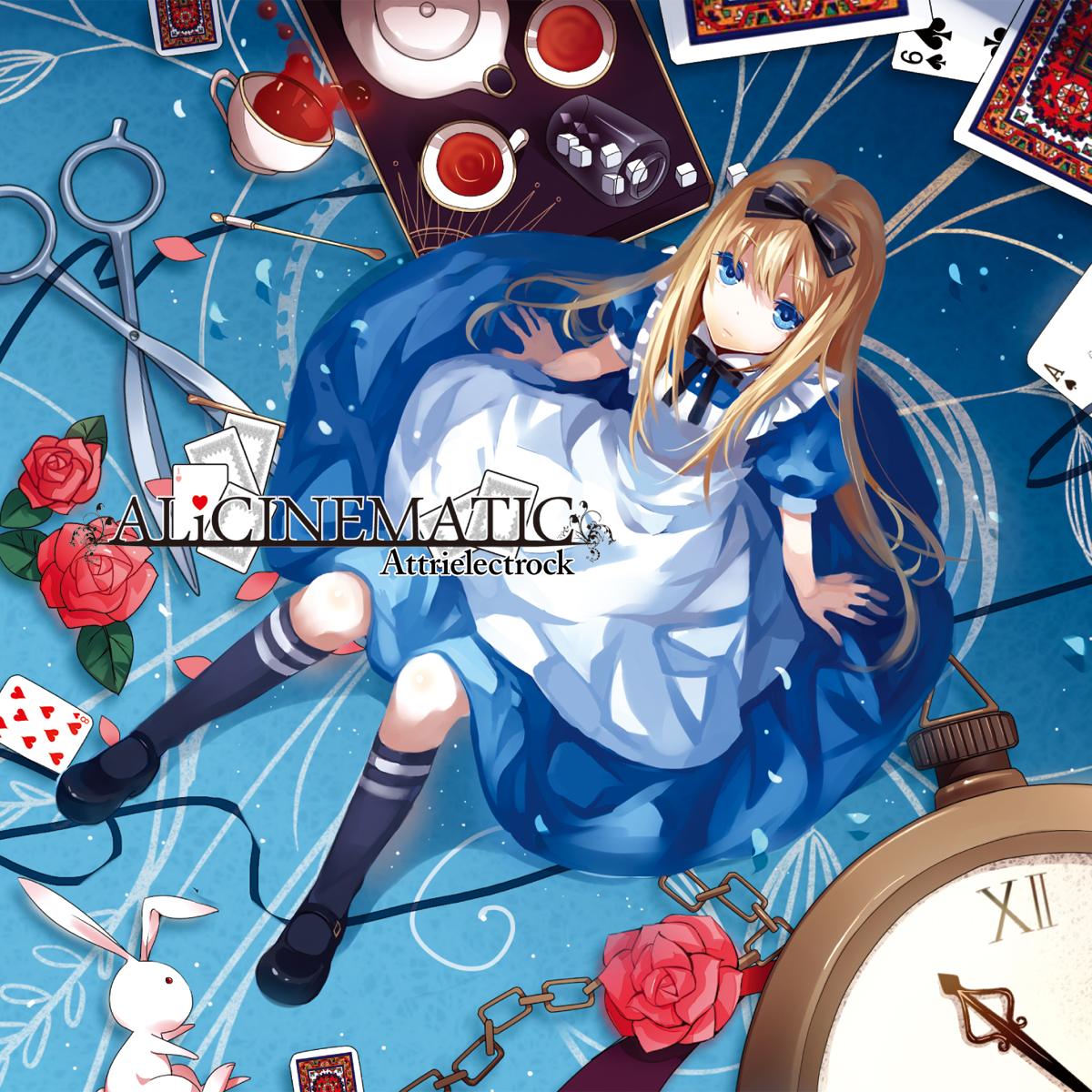 as anime in wonderland Alice