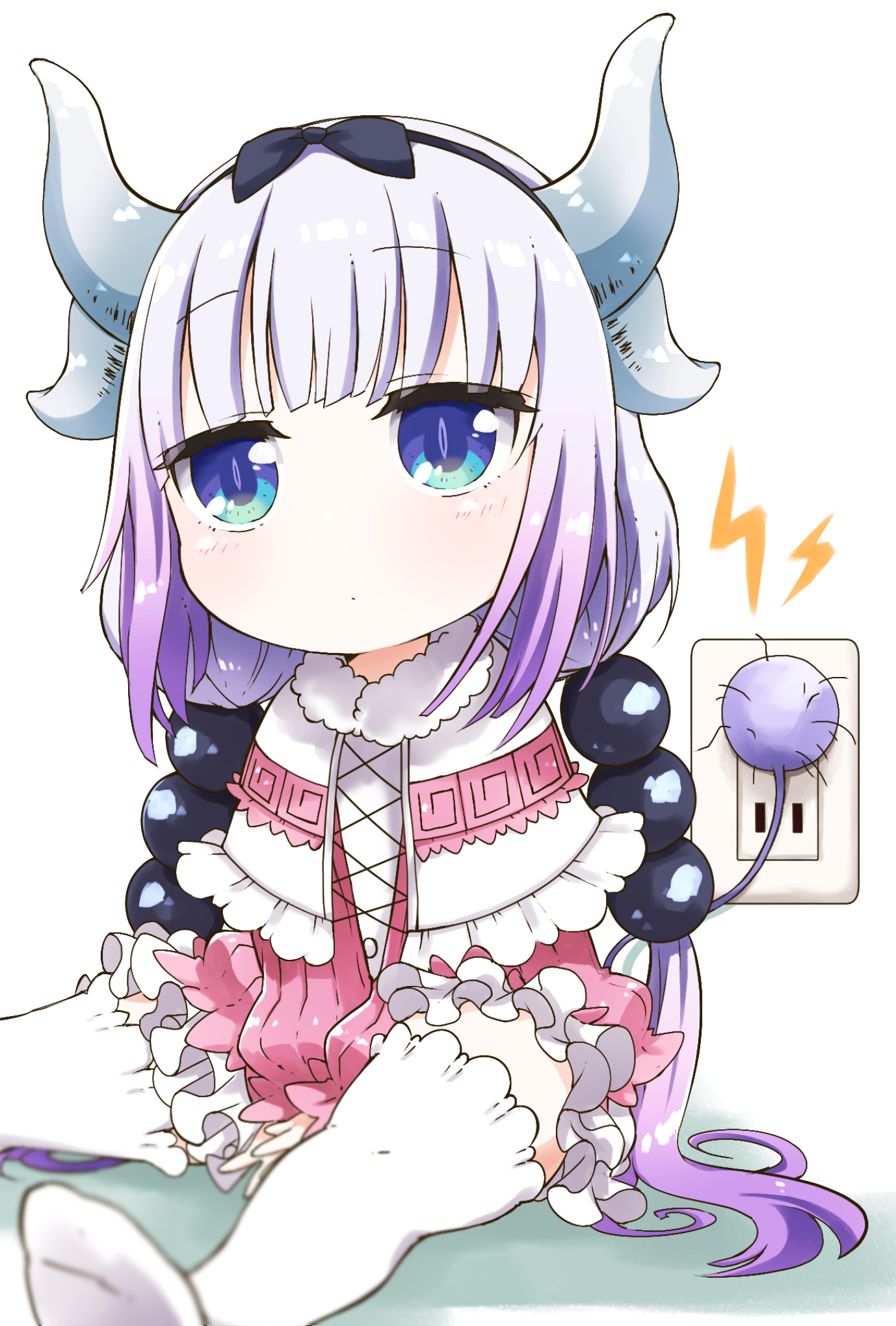 maid dragon Anime about