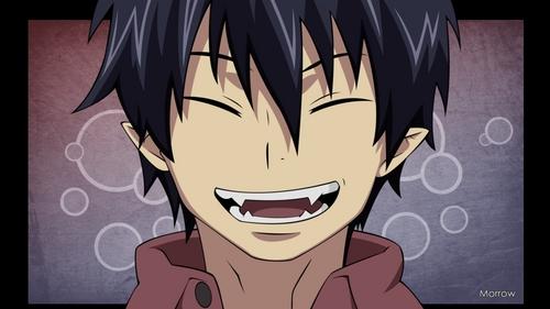 Anime characters with sharp teeth