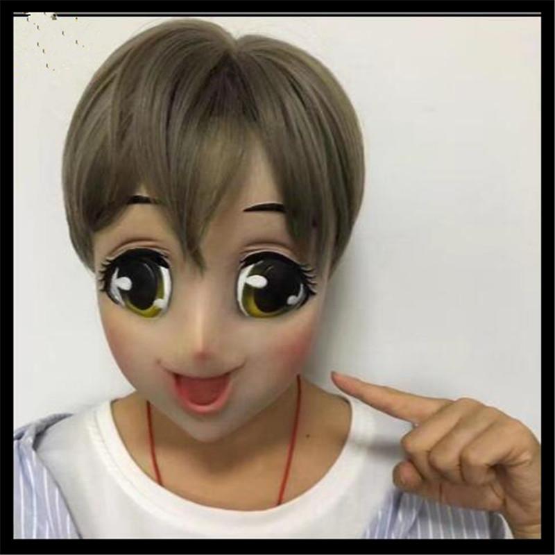 girl mask cosplay Anime