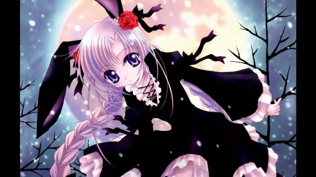 bunny with Anime girl