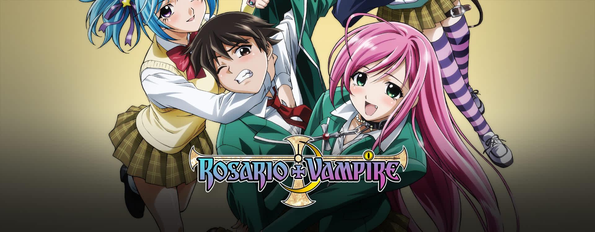 porn vampire Anime rosario