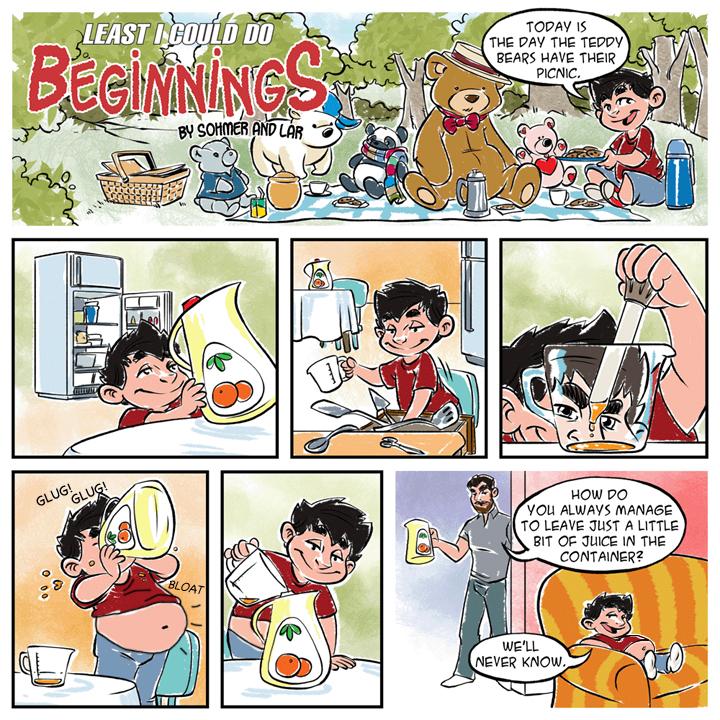 weight gain comic Anime