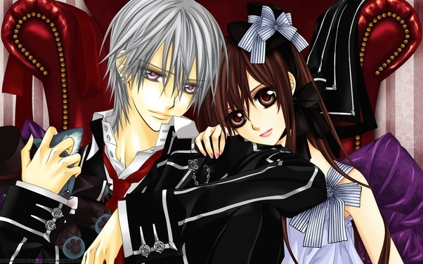 and vampires romance with Anime