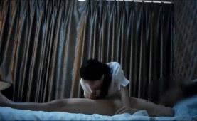 voyeur POV Asian cum announcement