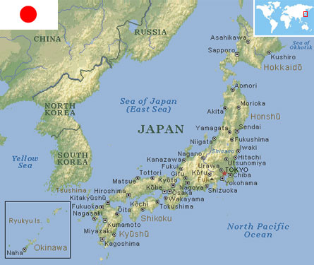 world the Japan in