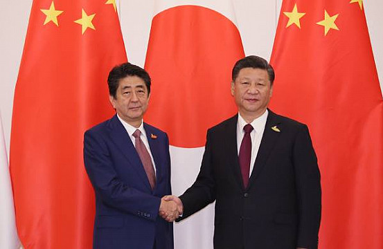 china in japan Is